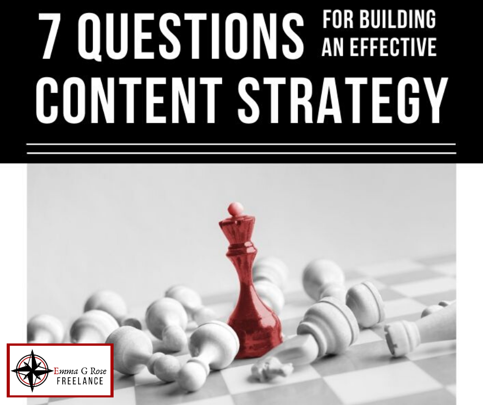 Cover art for 7 questions for building an effective content strategy